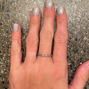 Dainty pandora ring size 56
